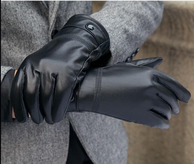 Pánské kožené rukavice Fur 017b4f32cf