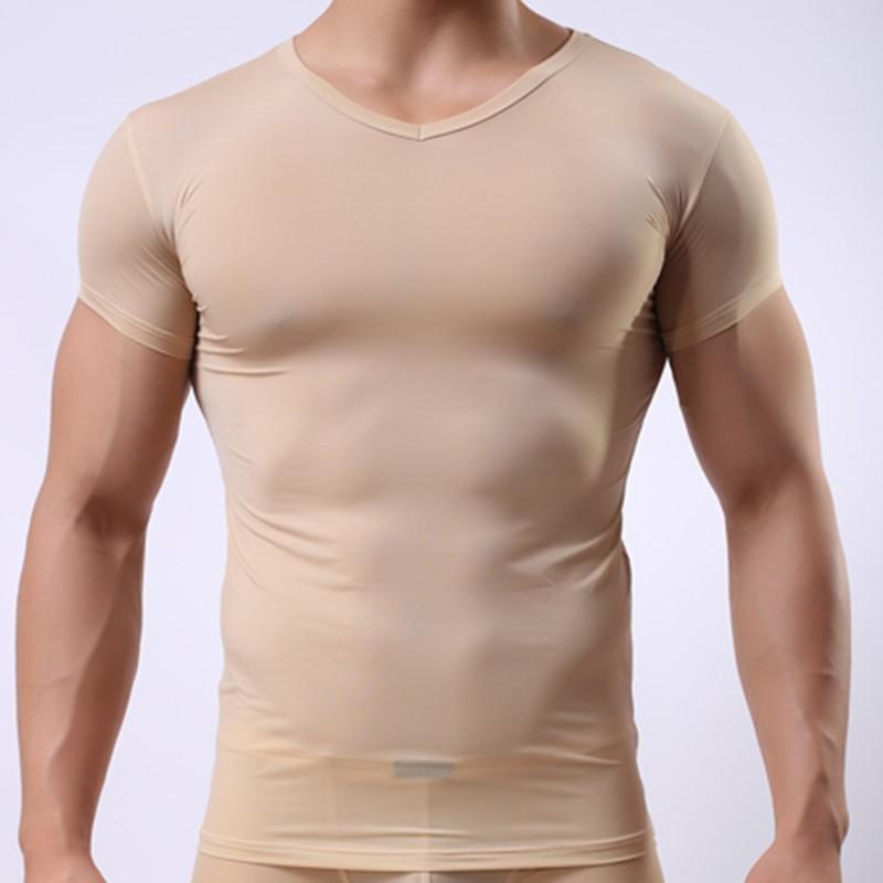 Pánské spodní prádlo - tričko V Spandex aa64c13ac6