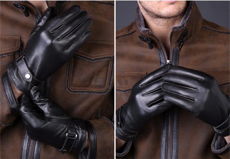 Pánské kožené rukavice Vitale 8114e01155